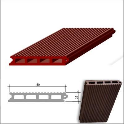 Геометрические показатели древесно-полимерной террасной доски