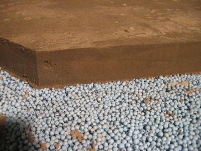 Мелкие композитные шарики - шумопласт