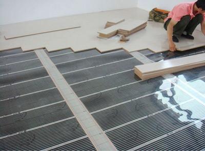Можно переходить к монтажу ламинированного покрытия
