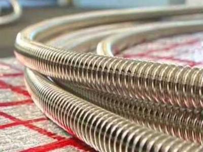 Гофрированная нержавейка - современный материал для контура отопления