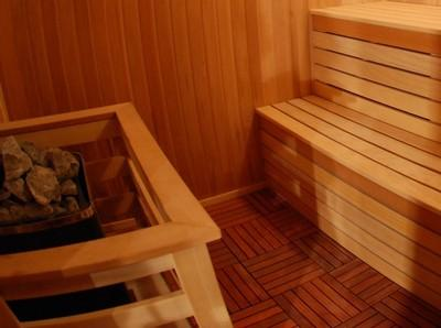 Еще один вид деревянного плиточного покрытия - декинг