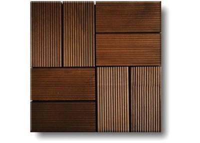 Современный оригинальный материал - натуральная деревянная плитка
