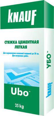 UBO - легкая стяжка с полимерным наполнением