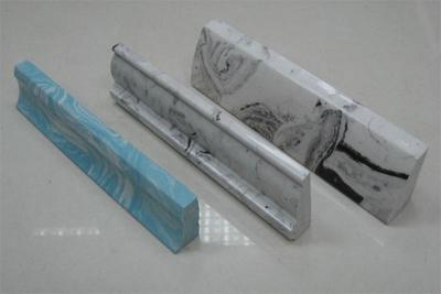 Фигурные плинтуса треугольной или трапециевидной формы