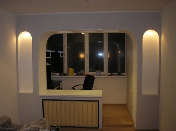 Балкон как продолжение комнаты
