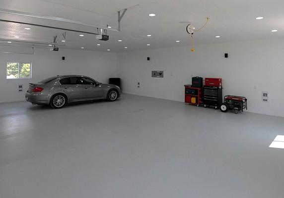 Как производится заливка пола в гараже бетоном