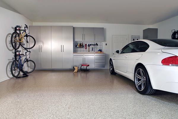Как производится заливка пола в гараже