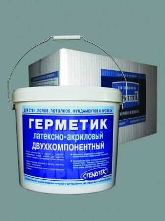 Латексно-акриловый двухкомпонентный герметик