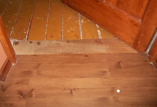 Способы выравнивания деревянного пола под линолеум