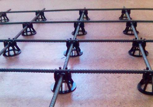 Чтобы каркас выполнял свои функции, его нужно устанавливать на высоте 3-4 см