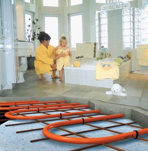 Как самому сделать теплый водяной пол в доме