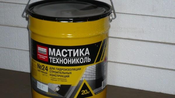 Мастика битумно-полимерная гидроизол
