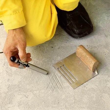 Подготовка бетонного пола к укладке плитки