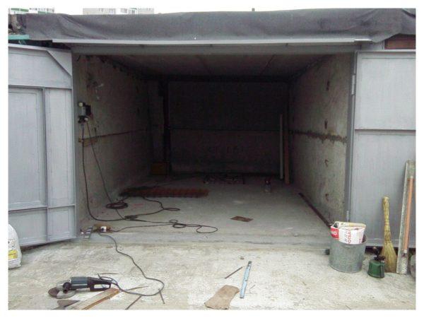 Как забетонировать пол в гараже