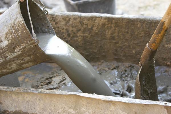 Как правильно сделать бетон
