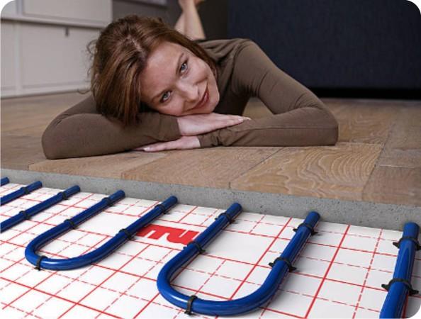 Керамогранит идеален для систем теплого пола