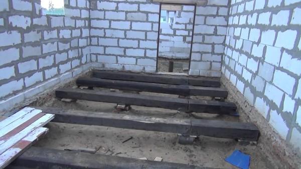 Лаги для обустройства деревянного пола