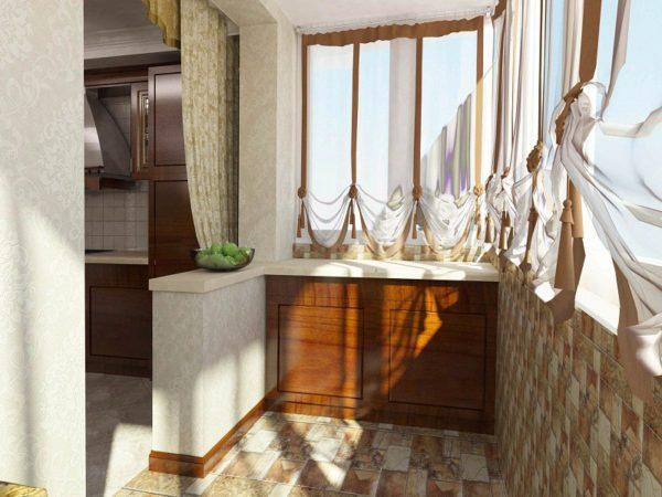 Линолеум на балконе