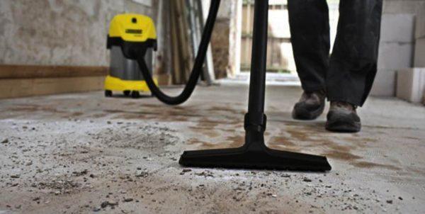 Очистка бетонной поверхности