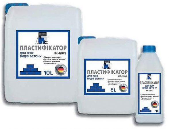 Пластификатор для всех видов бетона