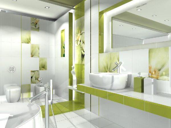 Польская плитка для ванной Styl, Polcolorit