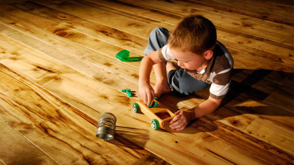 Порядок покрытия деревянного пола маслом