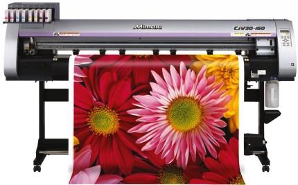 Пример широкоформатной печати. Баннер для наливного декоративного пола