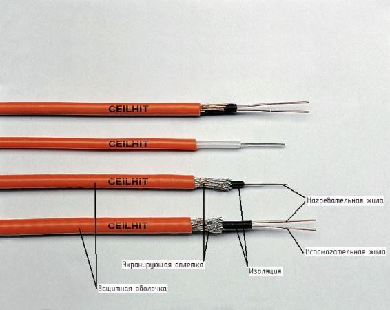 Резистивные нагревательные кабели