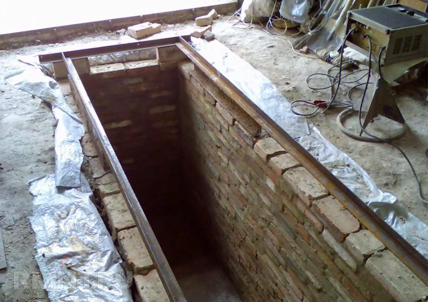 Размеры смотровая яма в гараже своими руками размеры