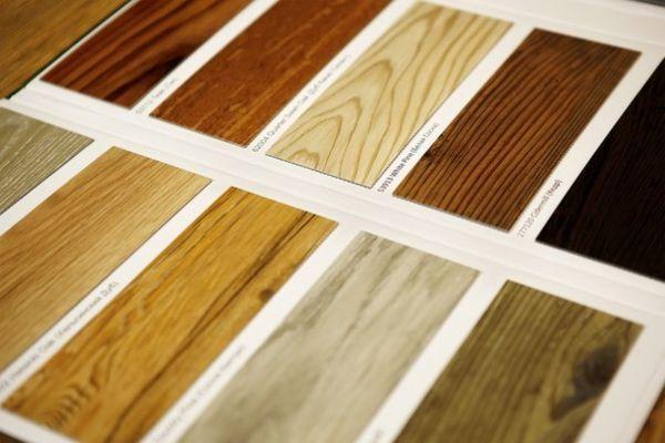 Технологические разновидности виниловой плитки