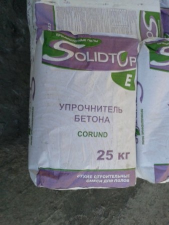 Топпинг корундовый Solidtop