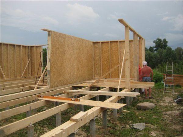 Каркасные дома и дачи своими руками
