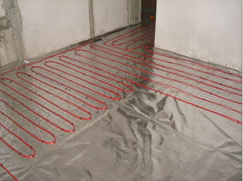 Греющий кабель для водопровода