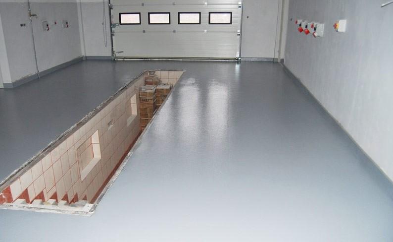 Как залить пол бетоном в гараже своими руками