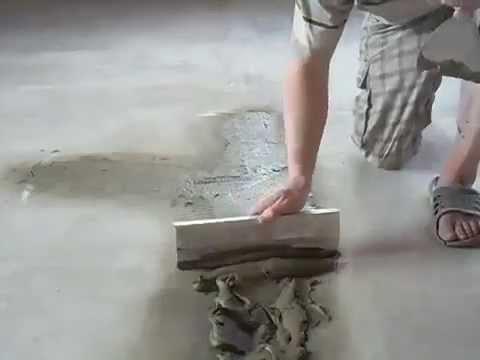 Шпаклевка для бетонного пола