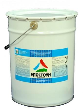 Эпостоун двухкомпонентная эпоксидная водно-дисперсионная грунт-эмаль для бетонного пола