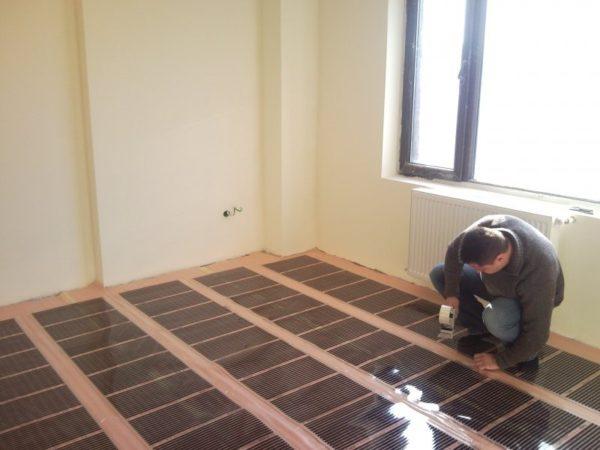 Достаточно покрыть 80% помещения пленкой и теплый пол может служить единственным источником тепла даже зимой