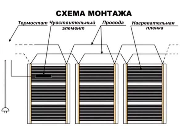 Схема монтажа
