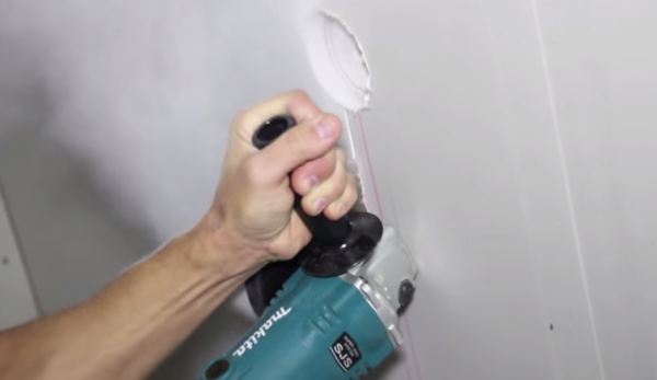 Делаем штробу для терморегулятора