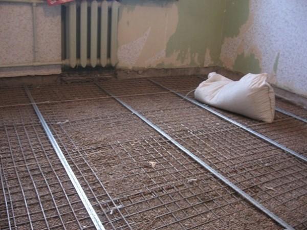 Как утеплять керамзитом бетонный пол