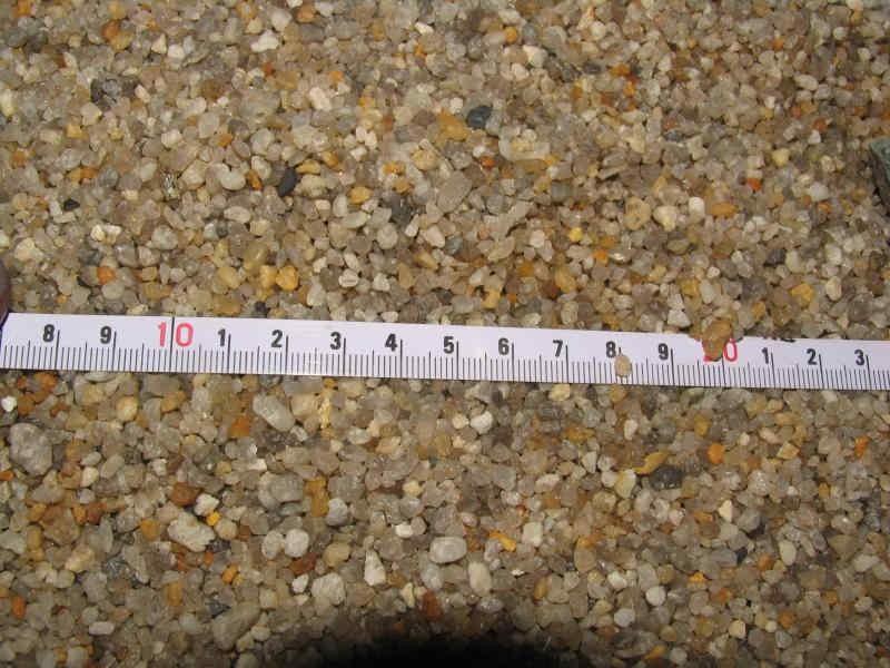 Размер частиц песка
