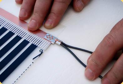 Соединение монтажных проводов с контактным зажимом
