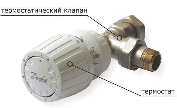 Термостат с механическим приводом