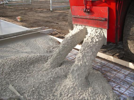 Готовьте жидкий бетон