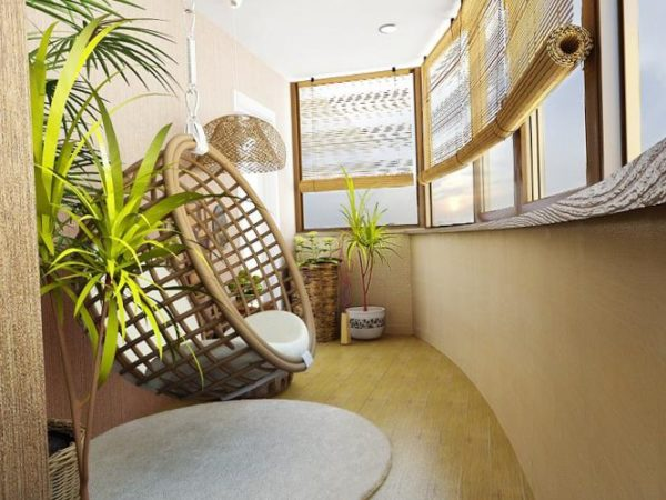 Дизайн балкон