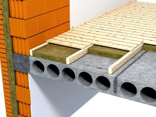 Плиты перекрытия создают высокие нагрузки