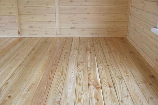 Деревянные полы склонны к гниению, особенно если не было нанесено защитное покрытие