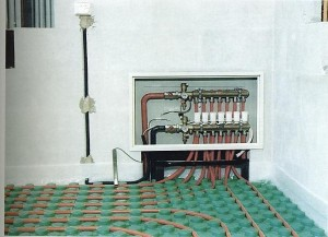 Подключение коллектора к теплому полу