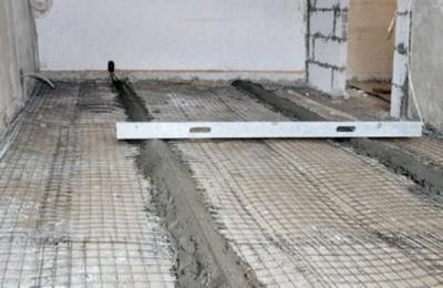 Как заливать пол в гараже цементным раствором состав керамзитобетона в 1 м3