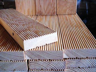 Террасная доска из натуральной древесины